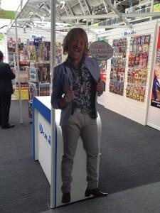 Keith Lemon on Danilo's 2011 stand.
