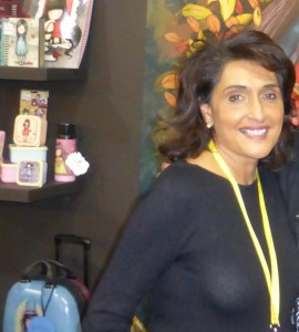 Santoro's co-owner, Meera Santoro is enjoying the limelight the company's brands receive.