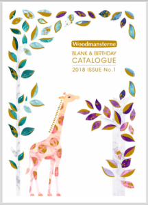 Woodmansterne's 2018 catalogue.