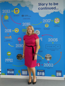 Card Factory's ceo Karen Hubbard has been acknowledged at one of the top ten most influential women in the entire UK retail sector.