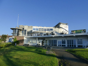 The Cliffs Pavilion's waterfront location in Westcliff on Sea provides an uplifting setting for The Ladder Club.