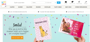 Greetz is the largest online retailer of personalised cards and gifts in the Netherlands.