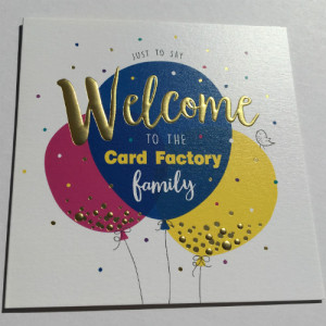 The Card Factory Colleagues Collection of cards part of encouraging card sending among its own business.