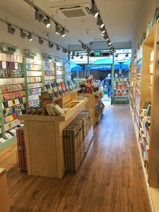 The slender shape of Postmark's Kingston store lends itself to the card and stationery product mix.