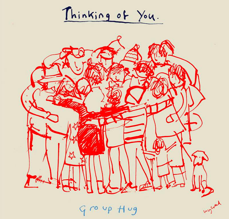 A Painter and Poet design that features in the GCA Thinking of You Week gallery.