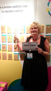 Amanda Oscroft of Love It is Stamford and Bury St Edmunds spent her silver ticket with Bettie Confetti.