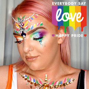 Various Paperchase stores across the country have free face and body painting throughout July to celebrate Pride.