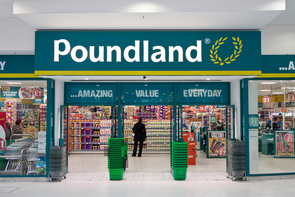 The new card designs are in 790 Poundland stores around the UK.