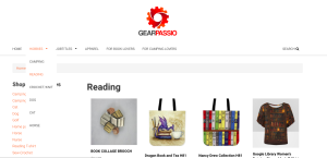 It was a book bag on the GearPassio site featuring a Berni Parker design that sparked the battle against the copyright infringement for many card publishers.