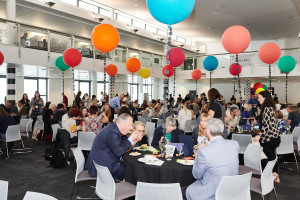 The lunchroom at last year's PG Live.