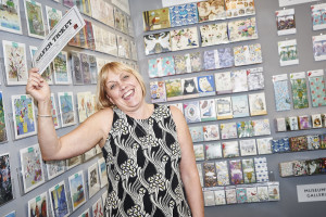 Museums & Galleries' Debbie Williams enjoying a 'Silver Ticket' moment at a previous PG Live. The publisher has exhibits at every single one of the PGL shows.