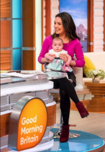 Laura Tobin on Good Morning Britain with Charlotte back in February. Image: Twitter