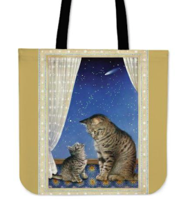 Celebrated cat artist, Lesley Ann Ivory, who work is published on cards by Natural Partners. Her IP was infringed by GearPassio.