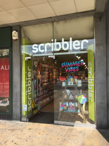 Promotion for The Big Value Comedy Show are centred around Scribbler's Edinburgh store.
