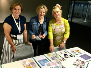 Among the judges for the Really Good Design Competition were (left-right) Jenny Cummins (Macmillan Cards), Claire Castle (WHSmith) and Jakki Brown (PG).