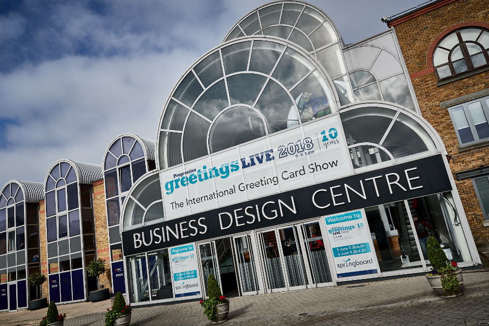 The airy Business Design Centre, in London's trendy Islington was once again home to PG Live.