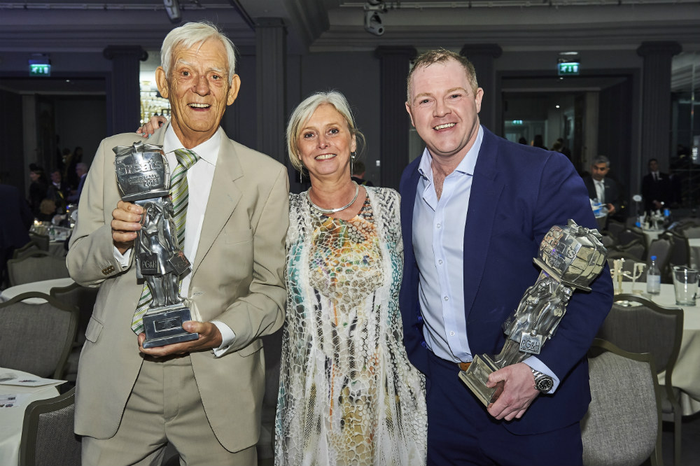 PG columnist, Pozzi's David Robertson (right) who won the Best Gift Retailer of Jewellery award with fellow Scots Constance and Hamish Wemyss of The Gift in Beauly which won Best Independent Gift Shop - Scotland.