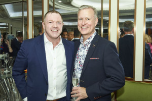 PG Columnist David Robertson (left) caught up with UKG's top honcho James Conn at The Retas recently.