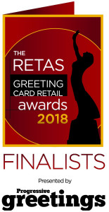 The Retas 2018 recognise the best greeting card retailers in the UK over the last year.