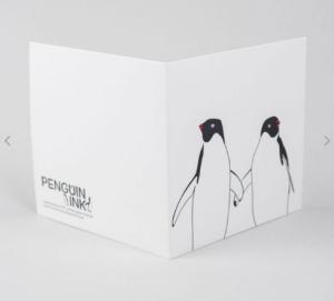 Luxury letterpress from Suffolk designer Lizzie Parker, founder of Penguin Ink.