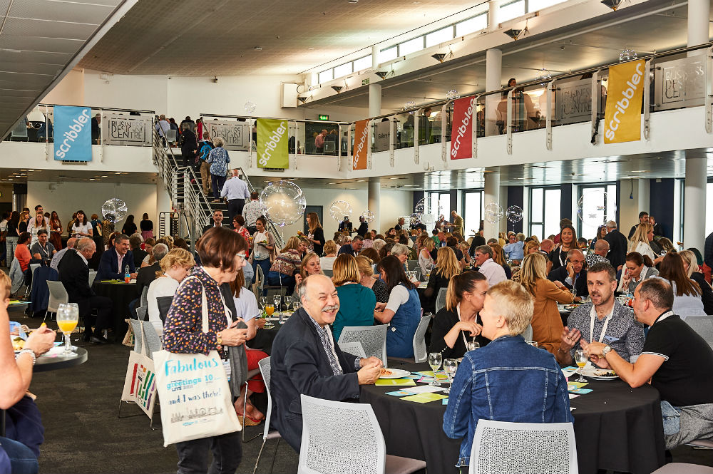 The lunchroom, which this year was sponsored by Scribbler, was a great opportunity for retailers and exhibitors to carry on networking over some scrumptious lunch.