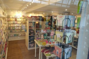 Customers can find a quirky range of cards, gifts and stationery in Planet Sal.