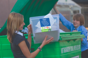 The greeting card industry is working with WRAP to ensure the consumer understands the recyclability of greeting cards.