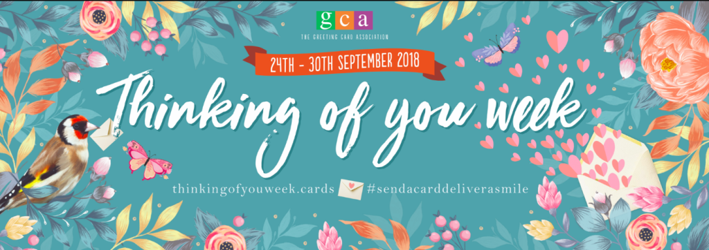 The GCA-instigated downloadable toolkit for Thinking of You Week on the designated website includes consumer-focused as well as designs for social media.