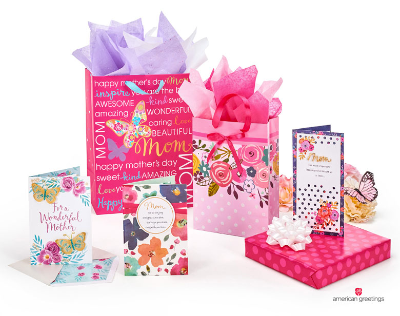 Hallmark and american greetings bring american mothers day to life a selection of mothers day products from american greetings m4hsunfo