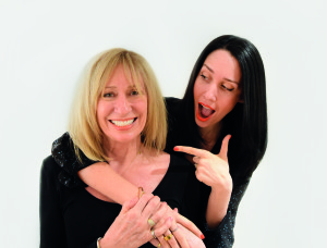 Lydia French, founder of The Brighter Times with her mum Rosy James, co-founder of Papagrazi.