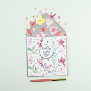 Katie Phythian Designs' greeting cards have inspired the new range for Zippy Baby.
