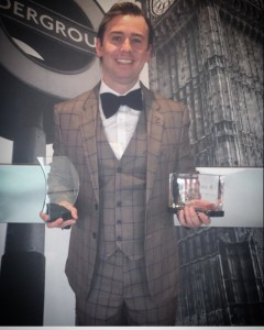 James Fox, senior sales manager of Xpressions 4 U has recently been crowned the company's Sales Person of the Year for the second year in succession.