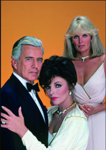 The shoulder pads, the big hair and the glamour of the Dynasty TV series epitomised the 80s.