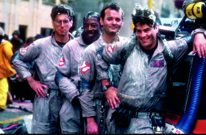 Who you gonna call? Ghostbusters of course!