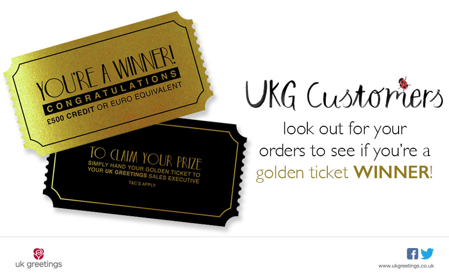 There are still two more chances to win with UKG's Golden Ticket promotion.