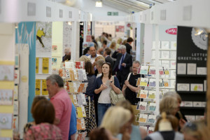 In the Greetings Gallery at last year's Harrogate Home & Gift.