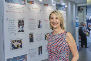 Sharon Little on the GCA stand at this year's PG Live.