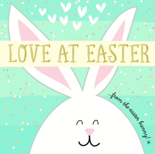 A cheeky bunny on a new Wendy Jones-Blackett Quicksilver design