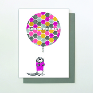 An 'otterley' fantastic design from Stop the Clock's Burst My Bubble range.