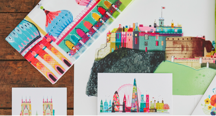 I Drew This is offering retailer the chance of a free specially commissioned Landmarks print.