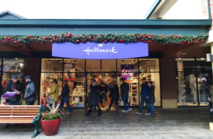 It is the experience of taking over the Hallmark factory outlets two years ago that has led to the recent development.