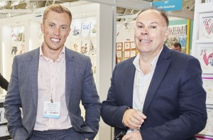 Cardzone trading director James Taylor (left) with his father Paul Taylor, founder and md of the group, at this year's PG Live.