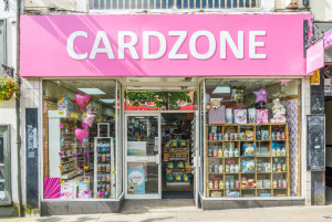 Work is underway on deciding which of its brands best suit the existing Cardzone stores.