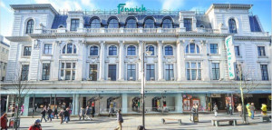 The first Fenwick store opened in Newcastle in 1882.