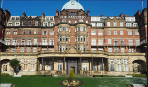 Above: Harrogate's landmark hotel, The Majestic has been sold to the Hilton group.