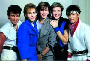 Anne Barber was not only a Duran Duran fan, but met the lead singer Simon le Bon in person!