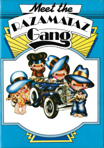 One of the Razamataz card designs, created by Edward, the popularity of which warranted the range being advertised on TV.