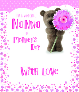Above: A card for Nan on Mother's Day from IC&G.