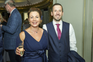 Julia Keeling and Chris Fox at The Retas in July.