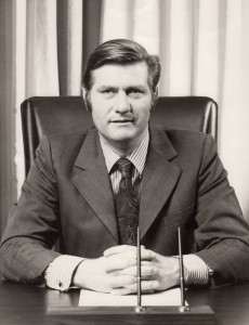 Above: Keith Wheal went on from being managing director of Hallmark UK in 1970 to becoming md of Hallmark Europe until he retired in 1990.